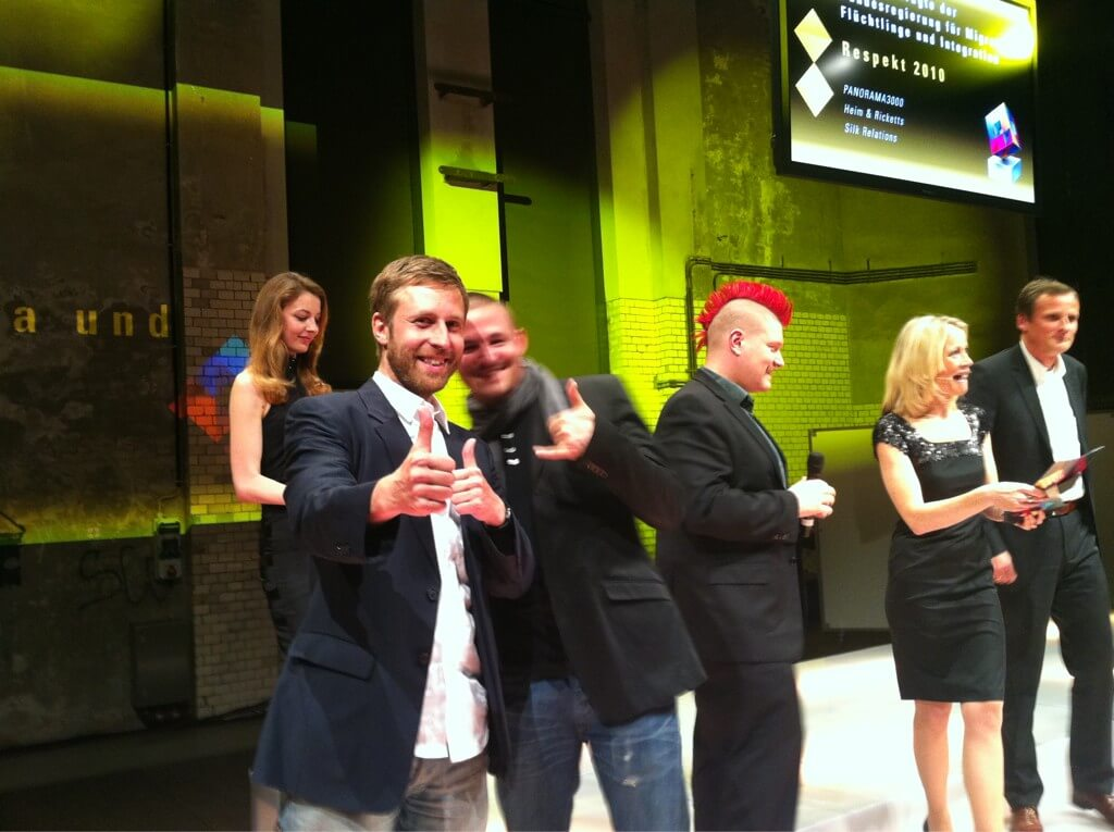 respekt2010 - Preis onlinekommunikation für Panorama3000