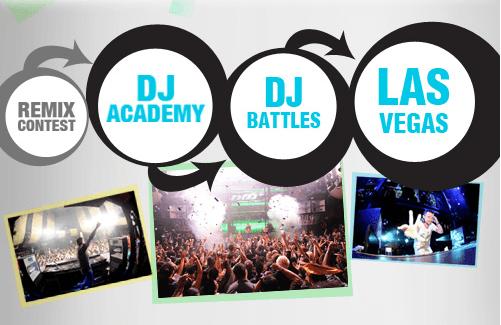 DJ und Remixwettbewerb Facebook App