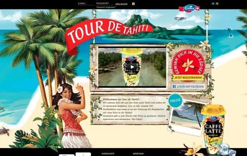 Tour de Tahiti Emmi CAFFÈ LATTE