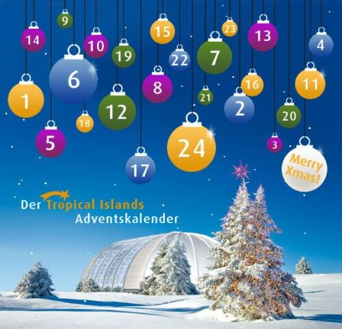 Tropical Islands Adventskalender