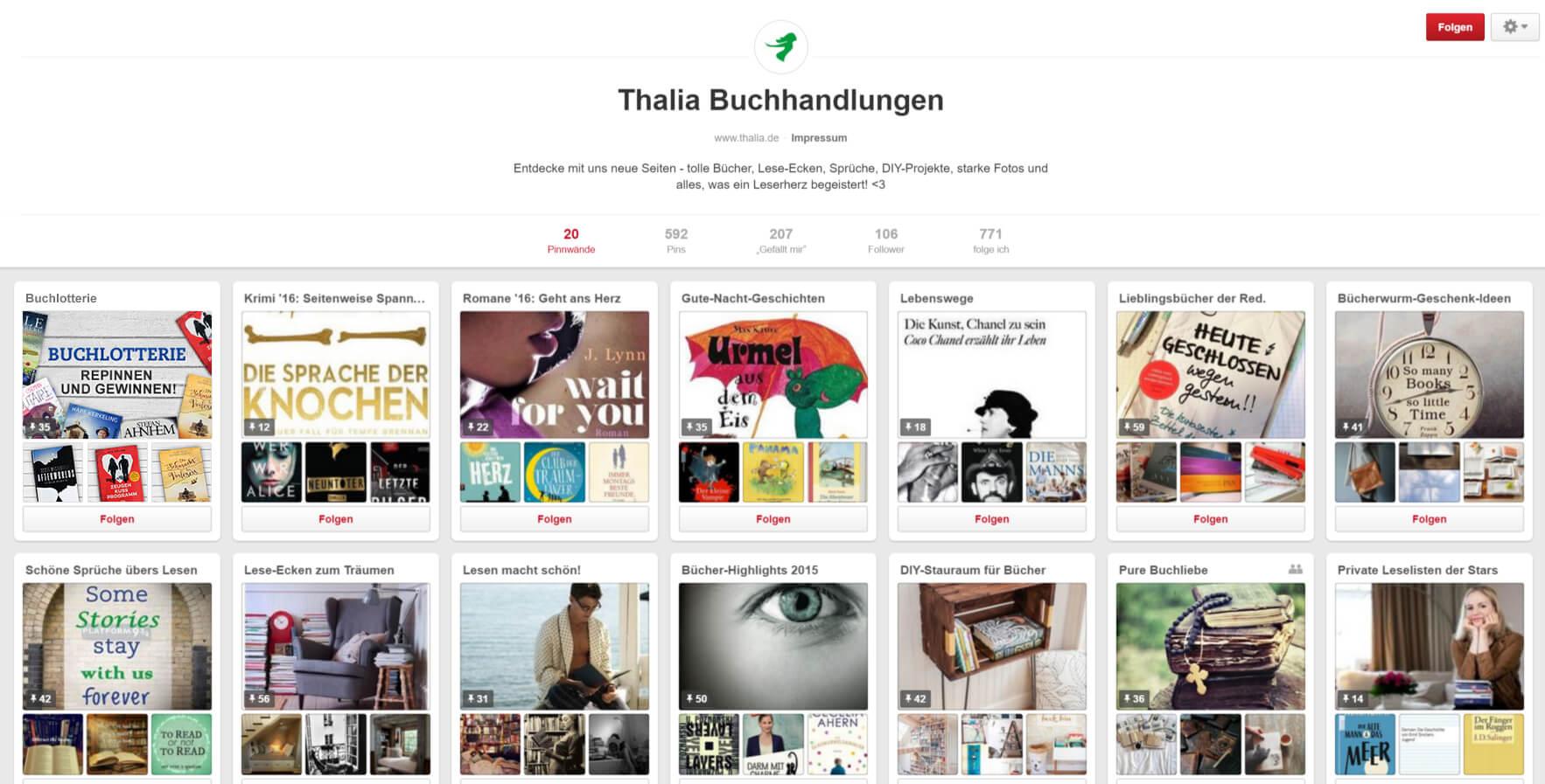 Thalia auf Pinterest