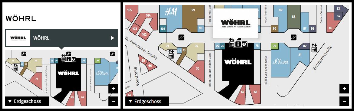 Potsdamer Platz Lageplan Storeauswahl
