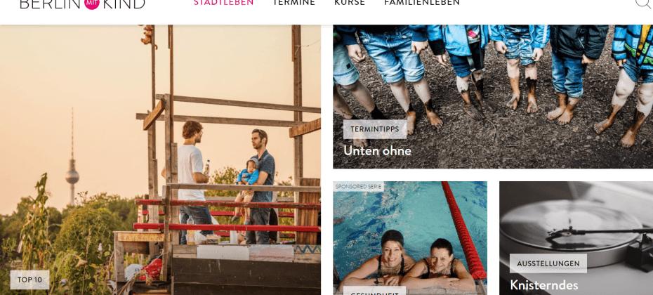 Berlin mit Kind website