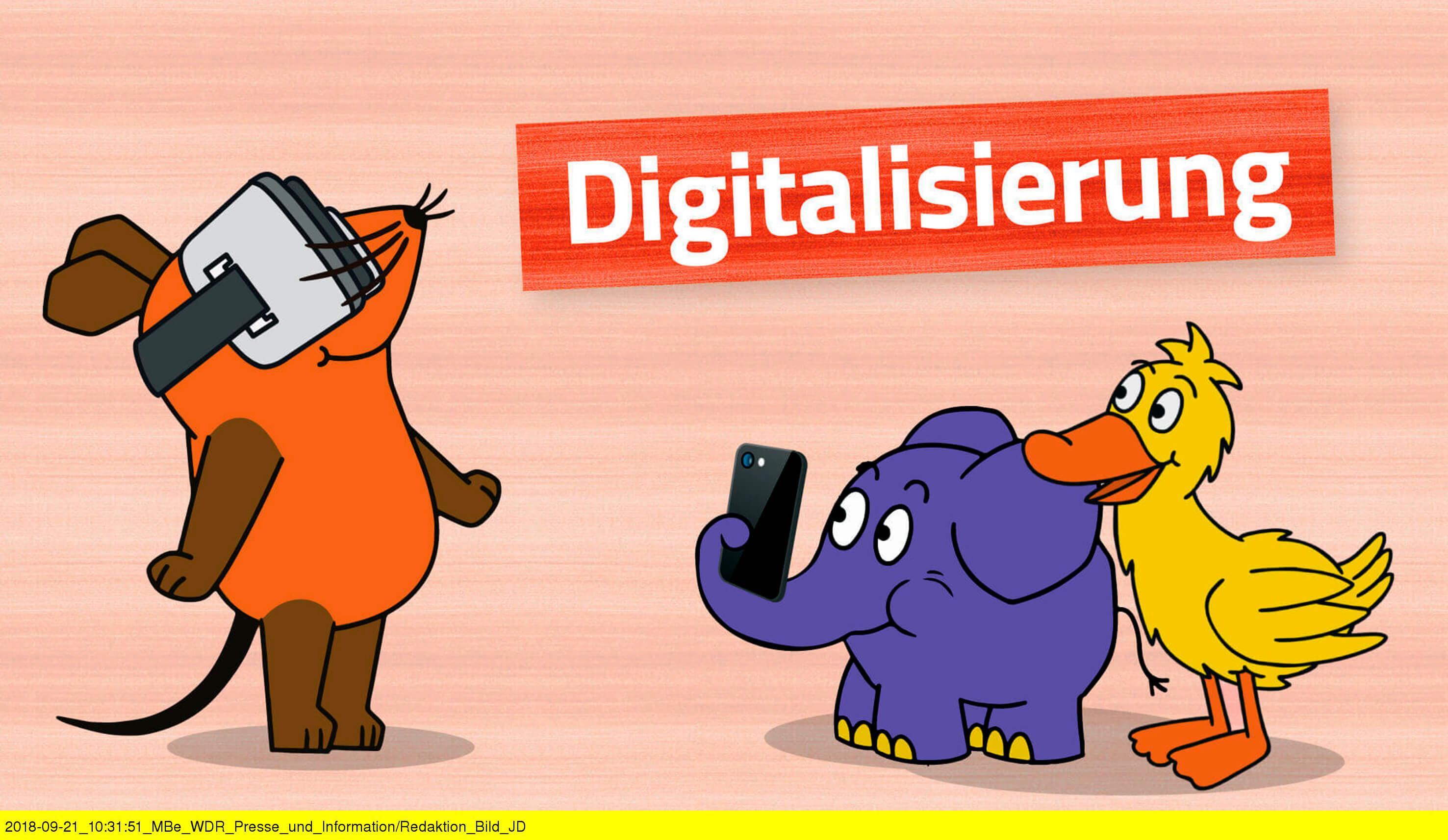 Digitalisierung Sendung mit der Maus