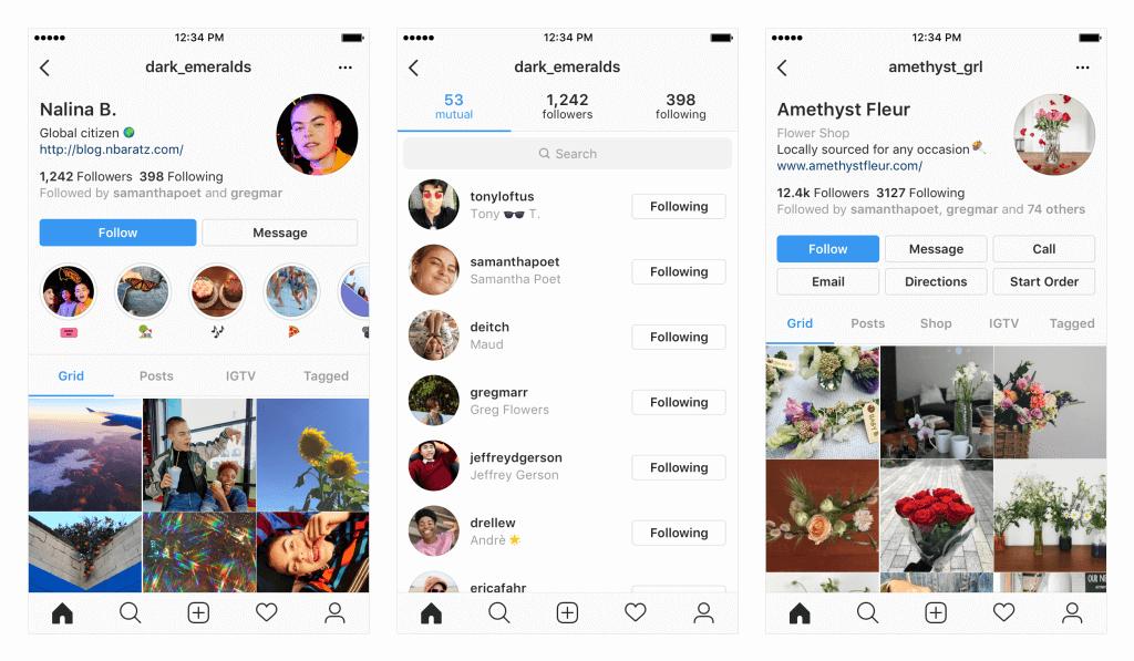 Profil Update Instagram
