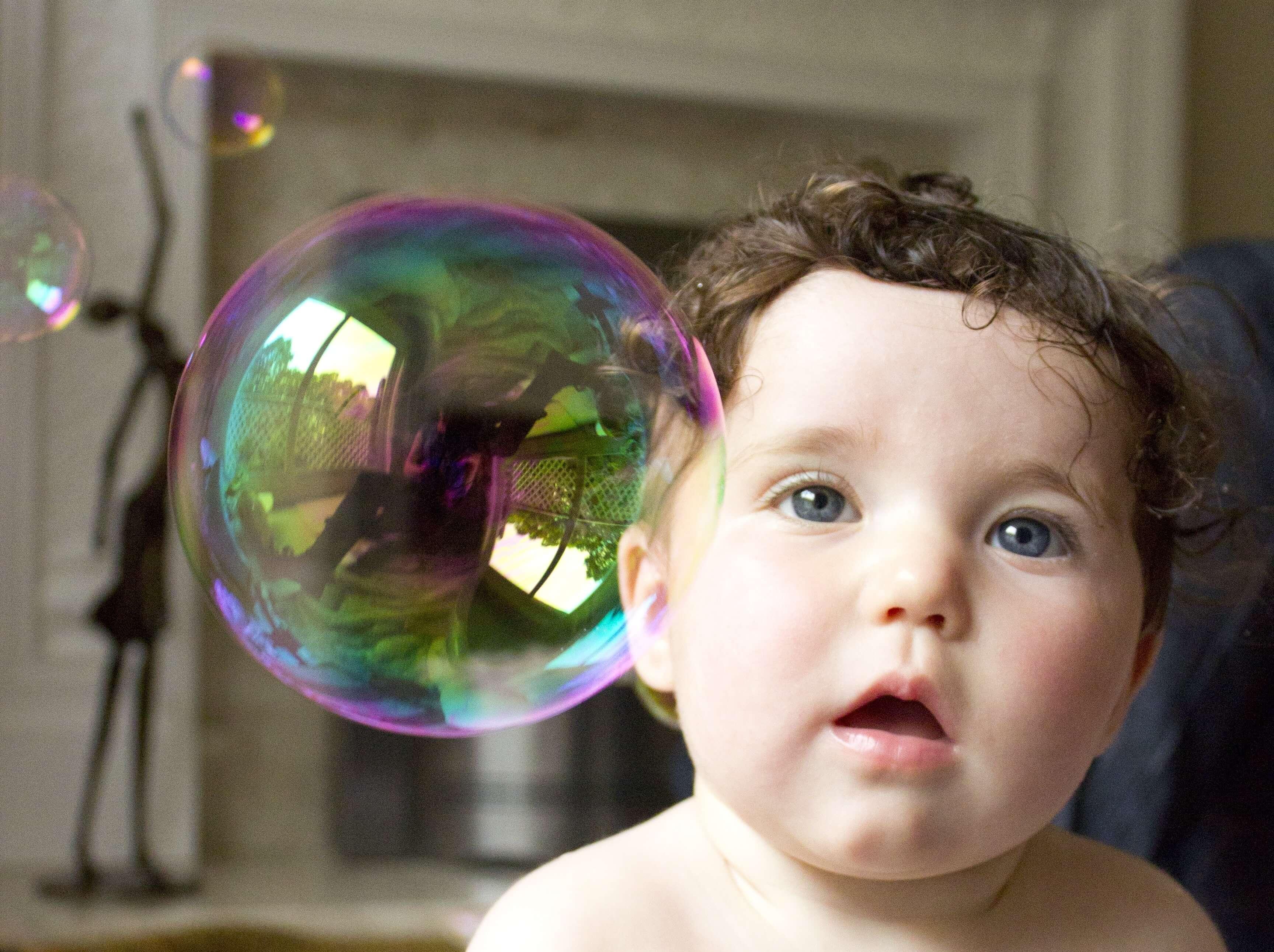 Bitcoin Bubble Baby Boy