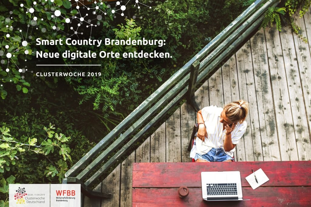 Smart Country Brandenburg: Neue digitale Orte entdecken.