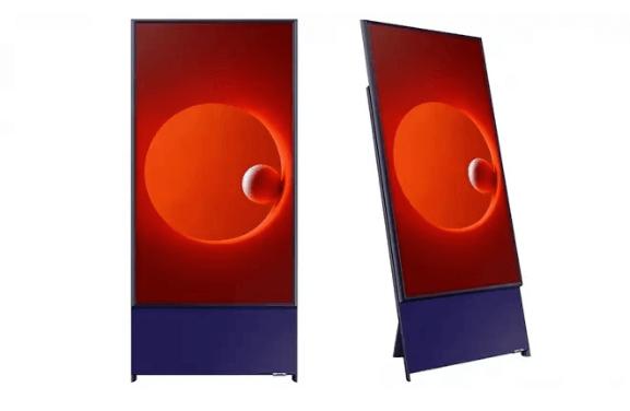 Samsung launcht horizontalen Fernseher