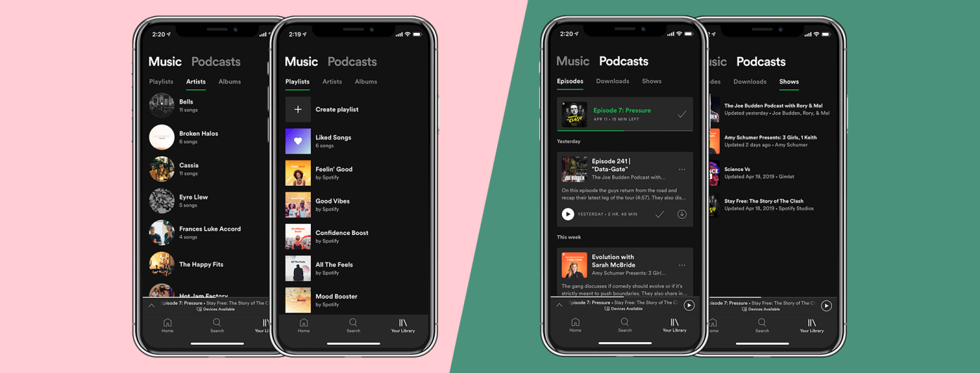 spotify-redesign