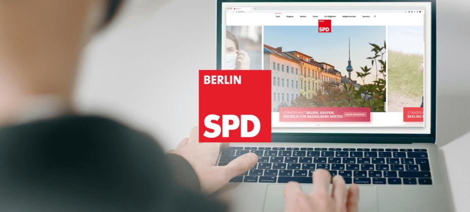 Multisite für die SPD Berlin