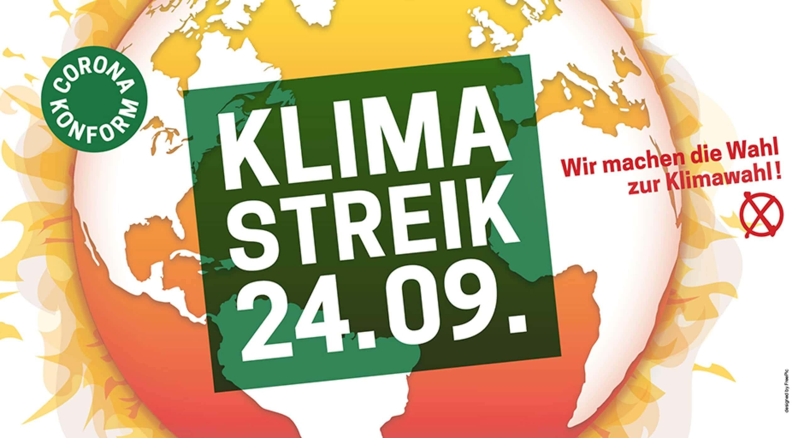 Klimastreik am 24.09.: Wir sind dabei!