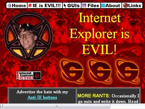 Zeitsprung ins Internet der 90er Jahre